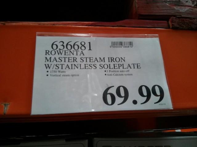 Rowenta Master Steam Iron Dw9150