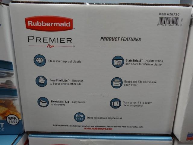 Rubbermaid 30 Piece Food Storage Set Costco