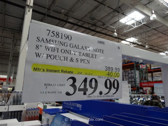 Samsung Galaxy Note 8 Costco