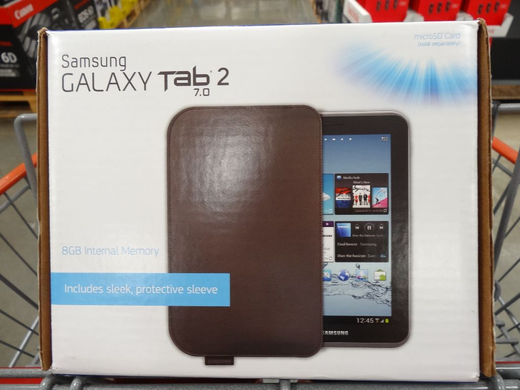 Samsung Galaxy Tab 2 7-Inch Tablet Costco