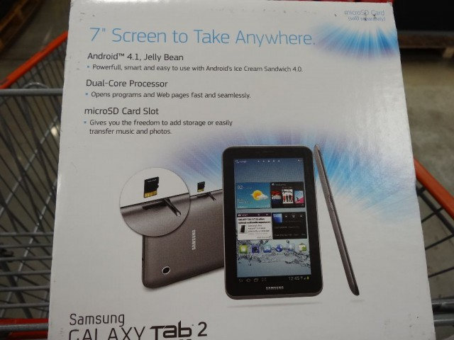 Samsung Galaxy Tab 2 7-Inch Tablet Costco