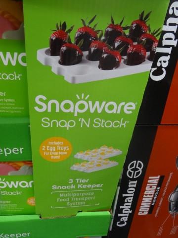 Snapware Snap N Stack Cupcake Carrier Costco