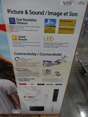 Sony Bravia 60 Inch LED TV Costco