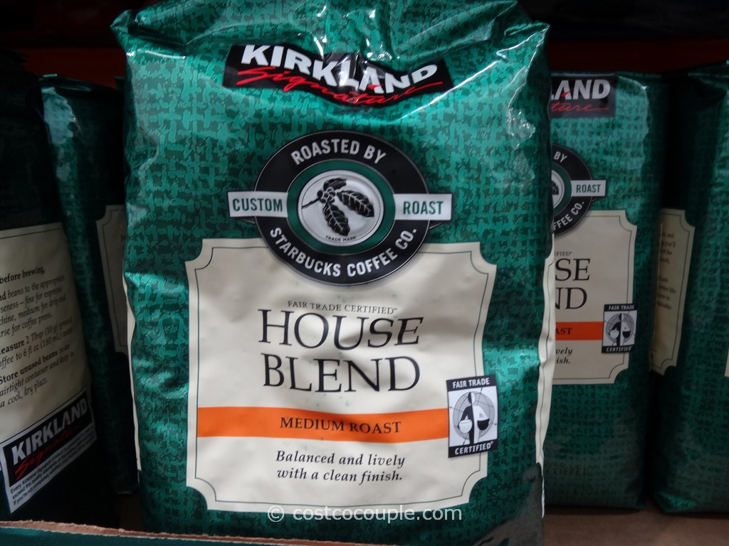 Starbucks Fair Trade House Blend Coffee Costco 2. Kirkland Signature Starbucks House Blend
