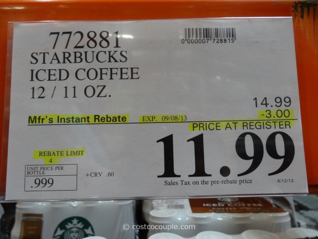 Starbucks Iced Coffee Costco 4