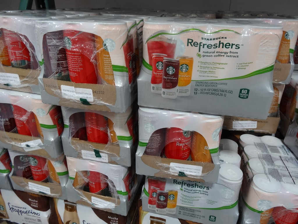 Starbucks Refreshers Costco