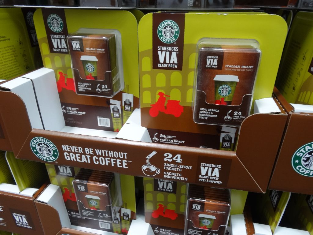 Starbucks VIA Italian Instant Coffee Costco