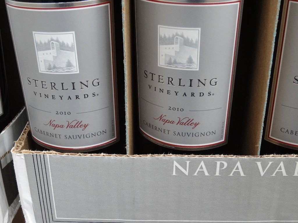 Sterling Vineyards 2010 Cabernet Sauvignon Costco