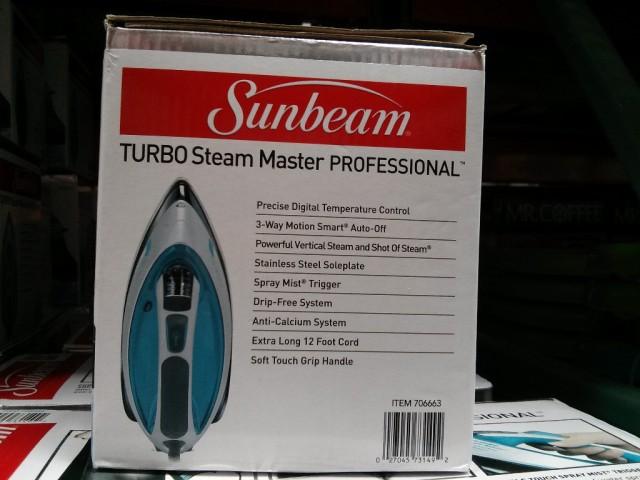 Sunbeam Turbo Steam Master Professional Iron