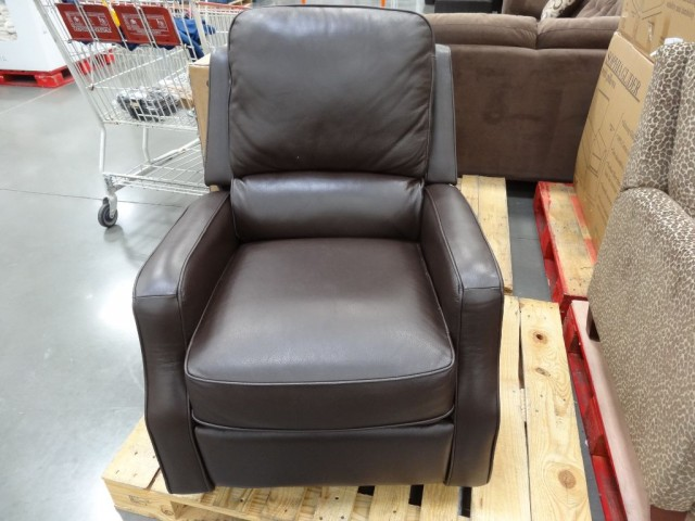 Synergy Caroline Leather Recliner Swivel Glider