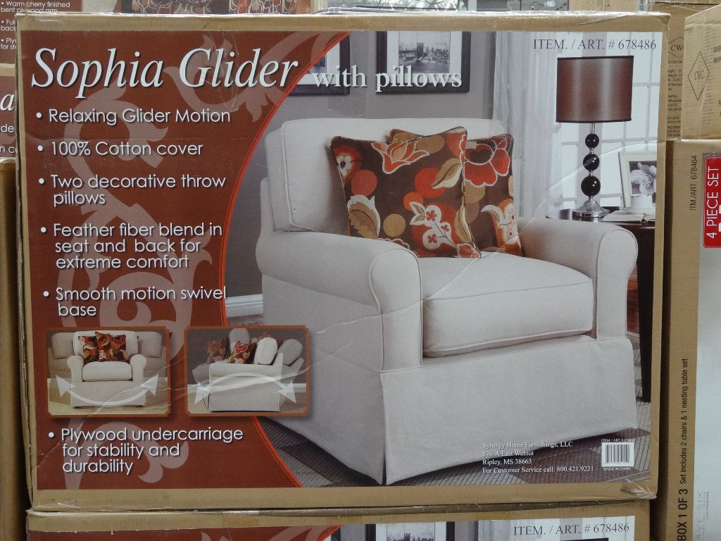 Exceptionnel Synergy Sophia Glider Chair Costco ...