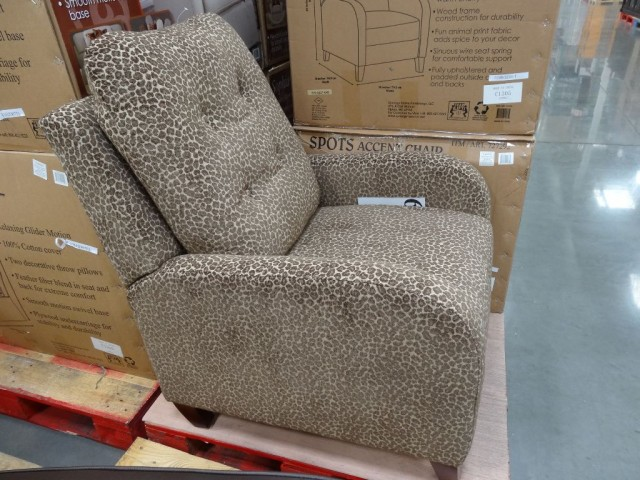 Synergy Spots Accent Chair Costco