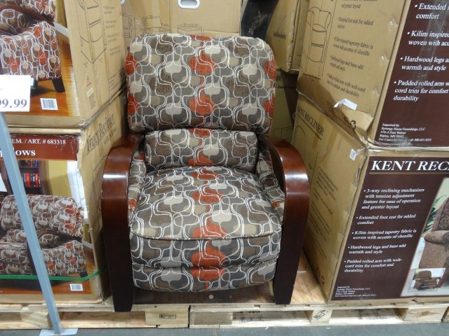 Synergy Tracy Fabric Recliner
