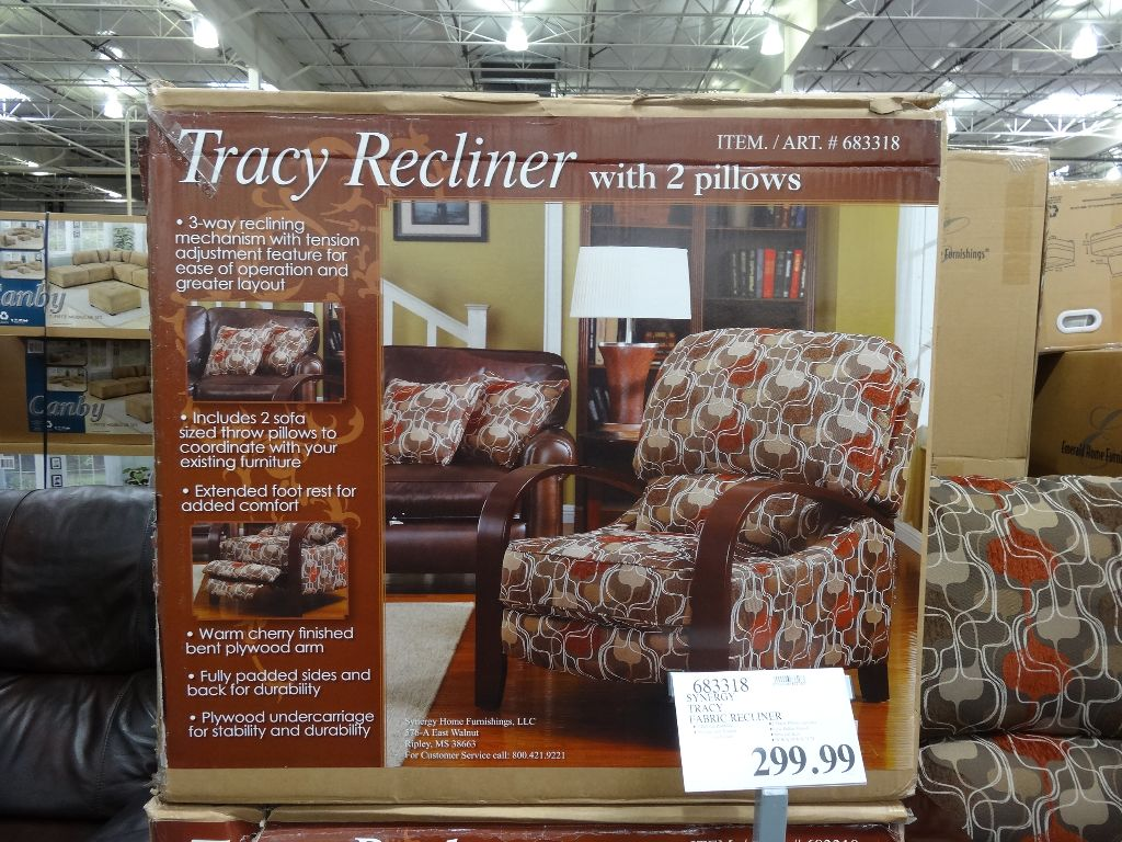 & Synergy Tracy Fabric Recliner