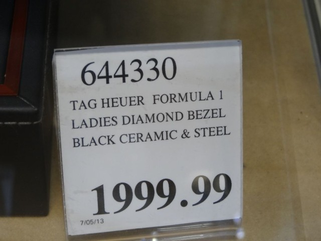 Tag Heuer Ladies Formula 1 Watch Costco