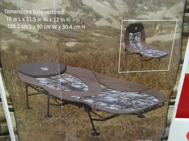 Timber Ridge Camp Lounger Costco