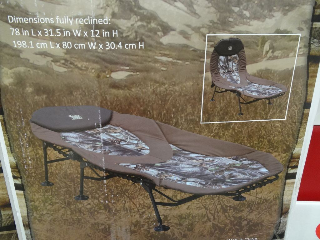 Camping bed costco -  Timber Ridge Camp Lounger Costco