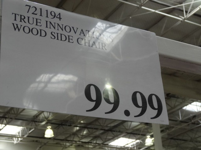 True Innovations Wood Side Chair