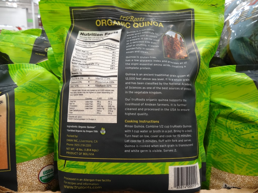 Inventory and pricing at your store may will vary Quinoa Rice Costco