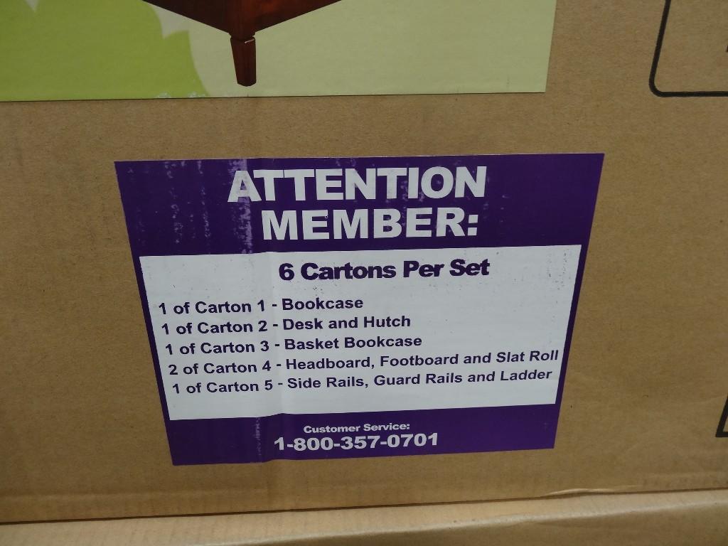 Universal Furniture Garrett Twin Bunk Beds