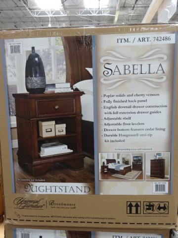 Universal Furniture Sabella Nightstand Costco
