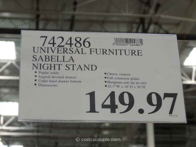Universal Furniture Sabella Nightstand Costco 7