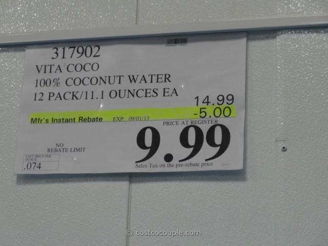 Vita Coco Coconut Water 12 Pack Costco 1