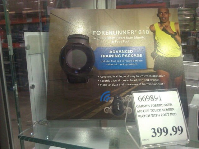 Garmin Forerunner 610 Costco