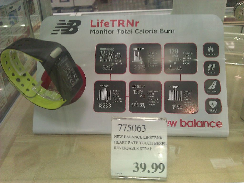 New Balance LifeTRNr watch Costco