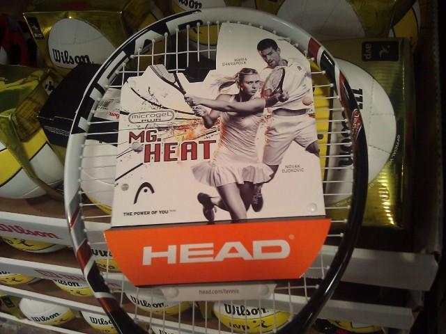Head Micro-Gel Tennis Racquet Costco - Close-up
