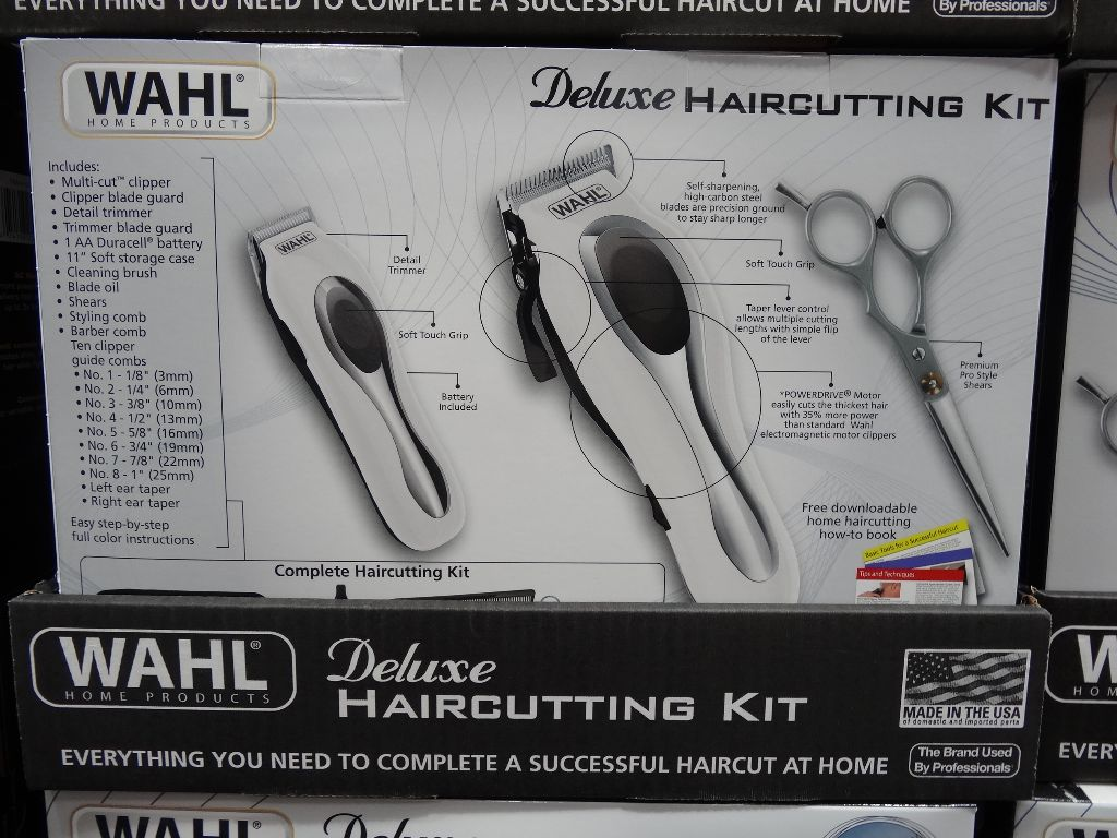 Wahl Deluxe Haircutting Kit with Trimmer Costco
