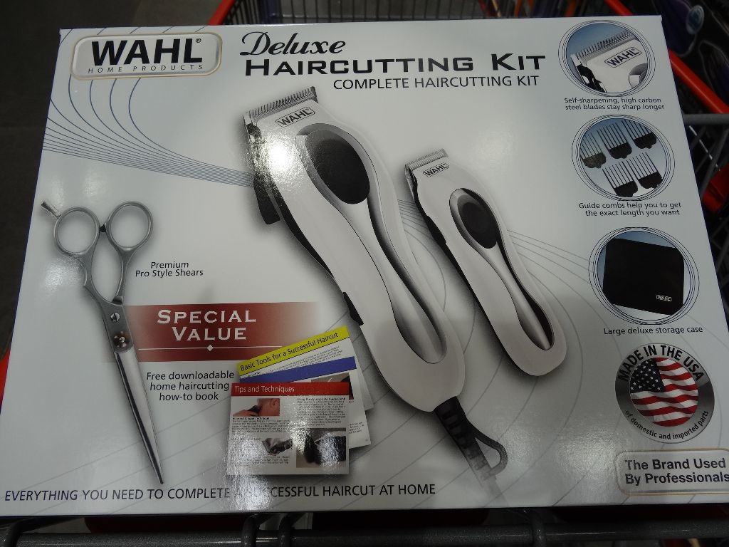 Wahl deluxe haircutting kit wahl deluxe haircutting kit with trimmer costco solutioingenieria Image collections