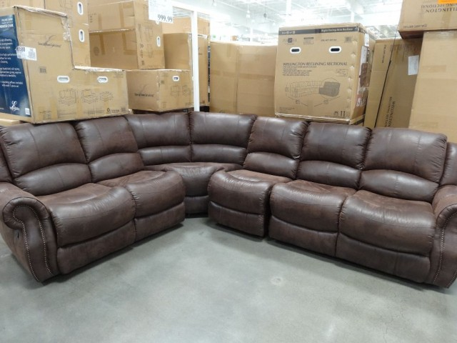 Wellington Reclining Sectional Costco