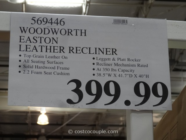 ... Woodworth Easton Leather Recliner Costco 1 & Woodworth Easton Leather Rocker Recliner islam-shia.org
