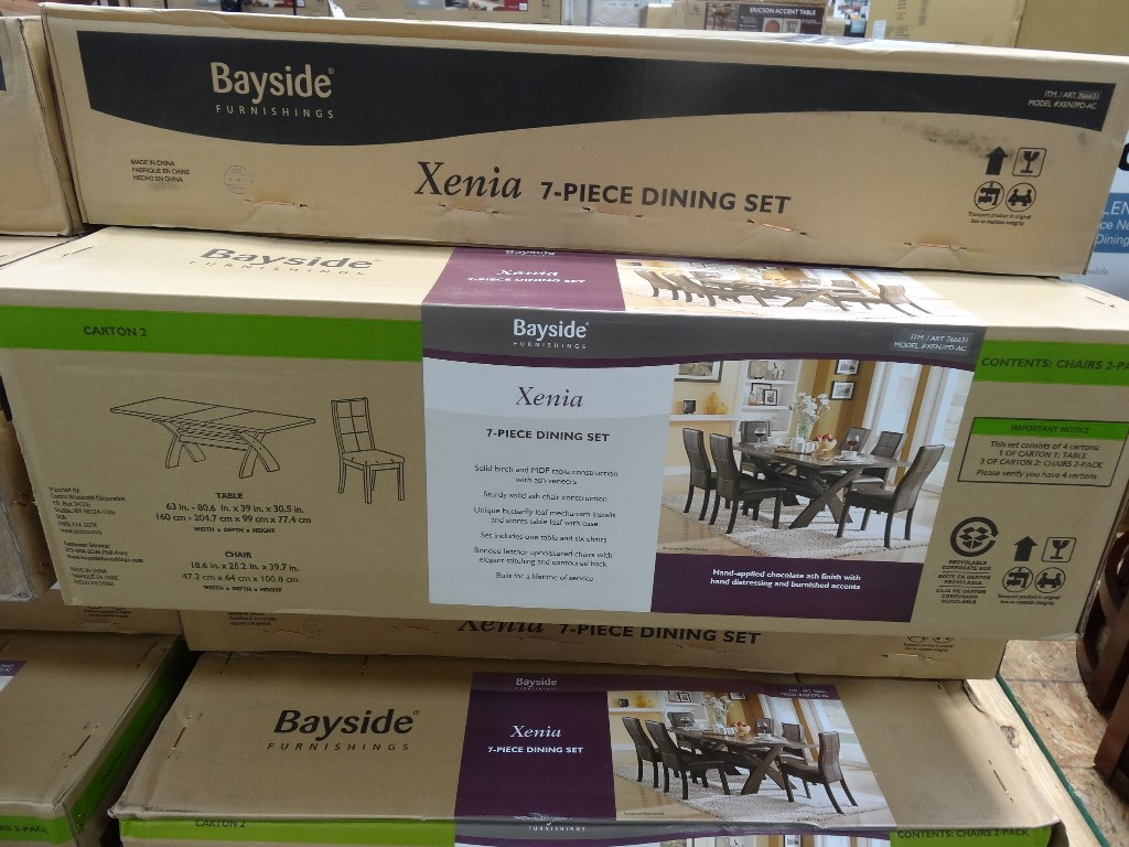 Xenia 7 Piece Dining Set