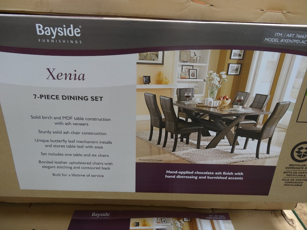 Xenia Dining Set Costco