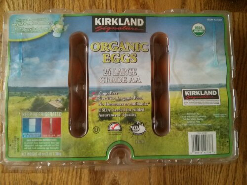 Kirkland Signature 24 Large Organic Eggs