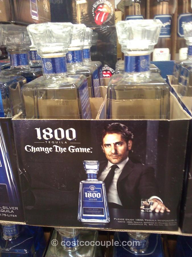 1800 Tequila Silver Costco