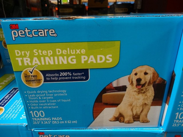 3m pet care dry step deluxe training pads