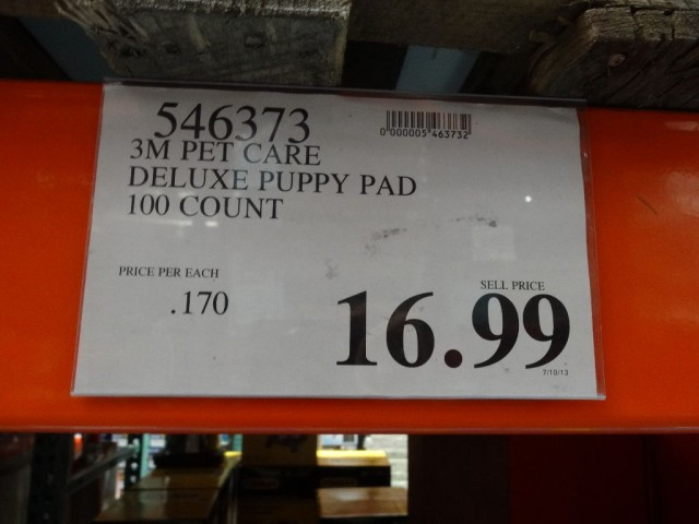 3M Pet Care Dry Step Deluxe Training Pads Costco