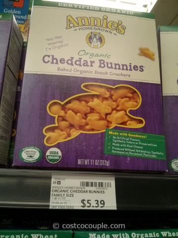 Annies Organic Cheddar Bunny Snacks Whole Foods