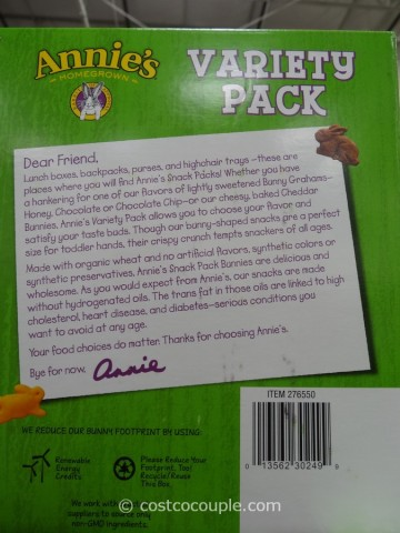Annie's Organic Variety Pack Costco 5