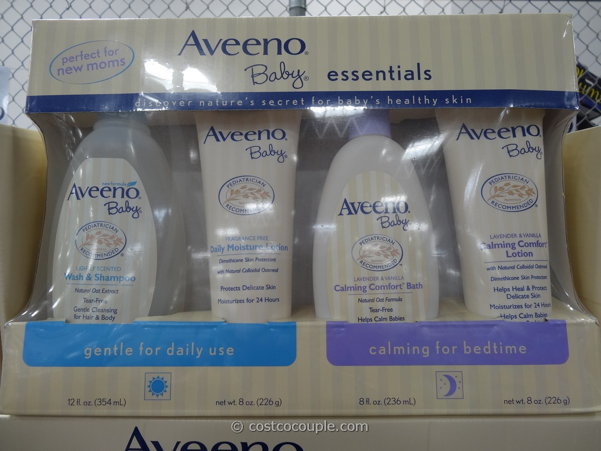 Aveeno Baby Essentials Bath and Lotion Pack Costco 3