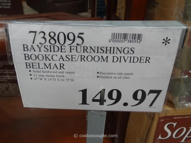 Bayside Furnishings Belmar Open Bookcase Costco 6
