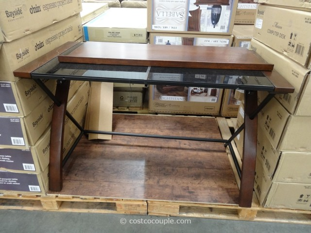 Bayside Furnishings Maren Computer Desk Costco 7