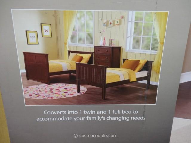 Bayside Furnishings Midland Twin Over Full Bunkbed Costco 3