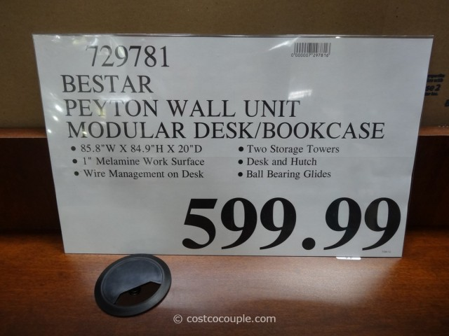 Bestar Peyton Wall Unit Costco 2