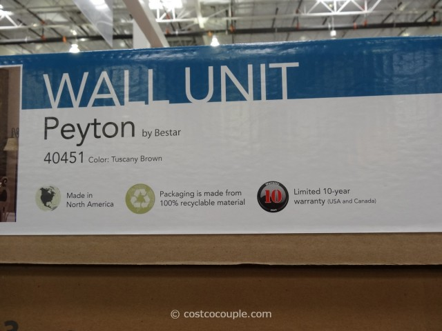 Bestar Peyton Wall Unit Costco 3