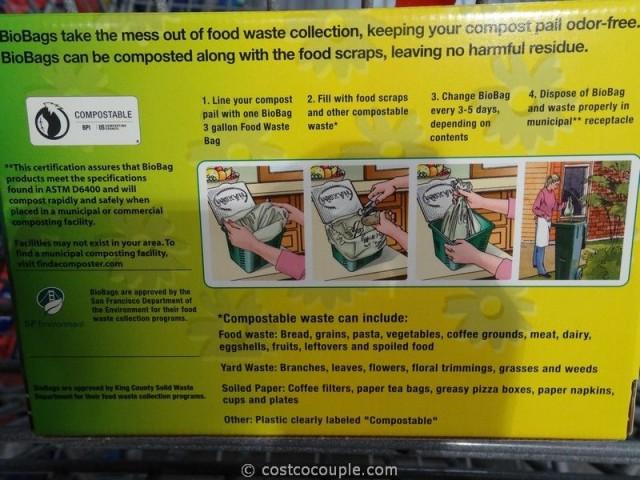 Biobag Food Compostable Bags