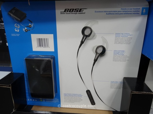 Bose Mobile In-Ear Headset Costco